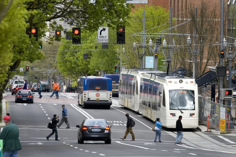 Portland Mall LRT Extension