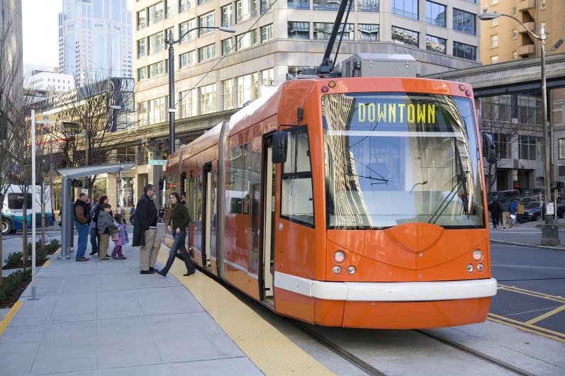 Seattle First Hill Streetcar