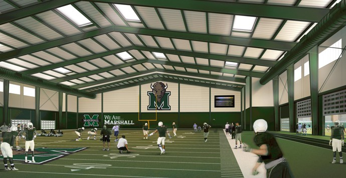 Marshall University Athletic Facilities Improvements