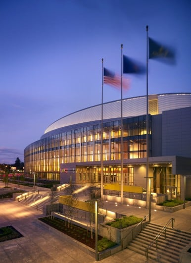 Matthew Knight Arena, University of Oregon