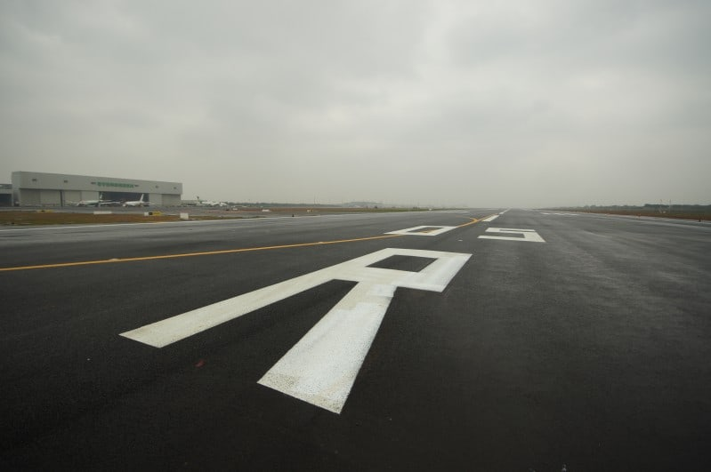 Taoyuan International Airport Runway 3