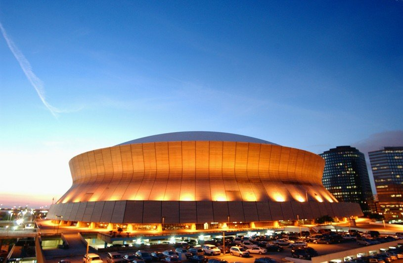 Mercedes-Benz Superdome Renovations, Photo by Phillip Gould