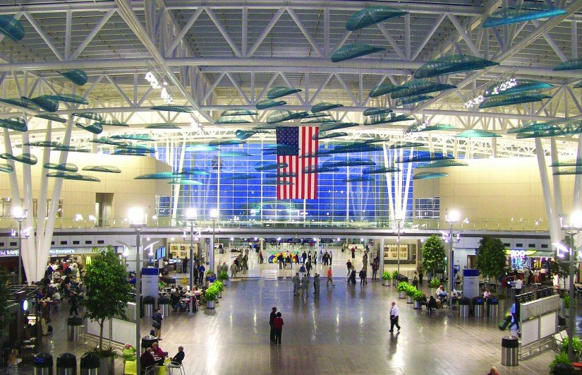The Col. H. Weir Cook Terminal at Indianapolis International Airport