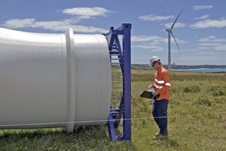Pacific Hydro Portland Wind Energy