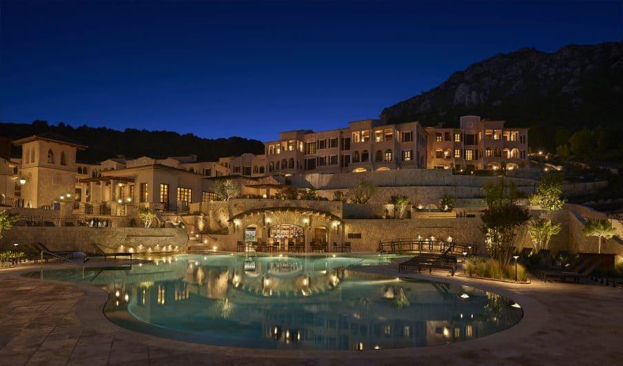 Park Hyatt Mallorca pool view