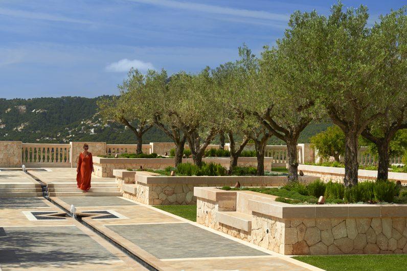 Park Hyatt Mallorca sunken garden