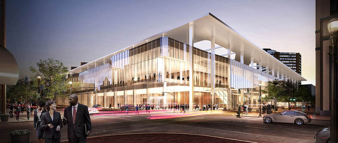 Kentucky International Convention Center rendering