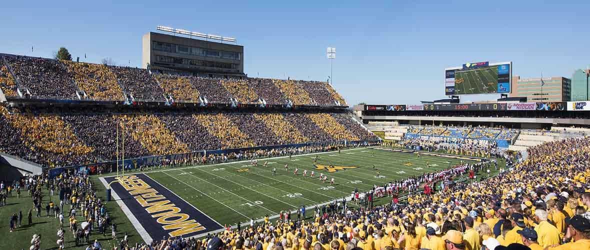 West Virginia University Milan Puskar Stadium Concourse Renovation