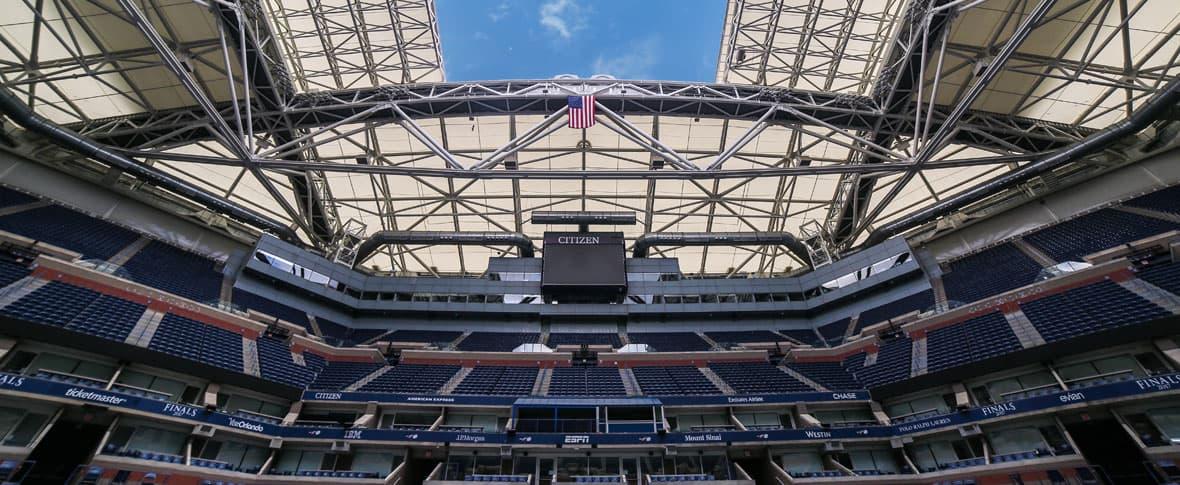 USTA Arthur Ashe Stadium Retractable Roof