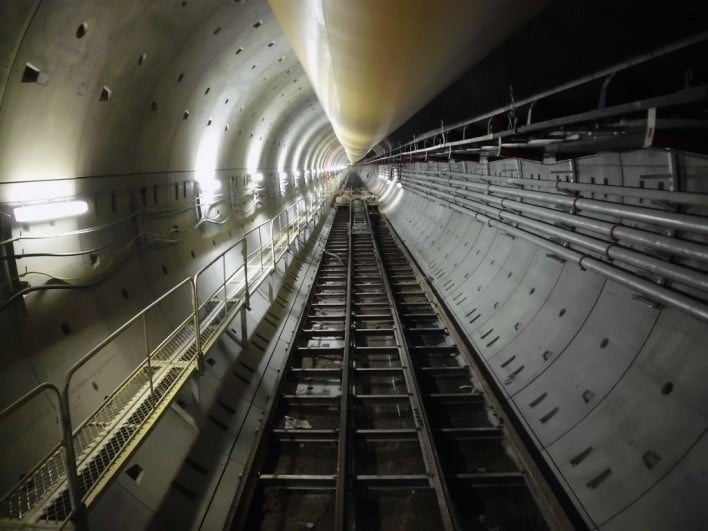 Hong Kong West Drainage Tunnel