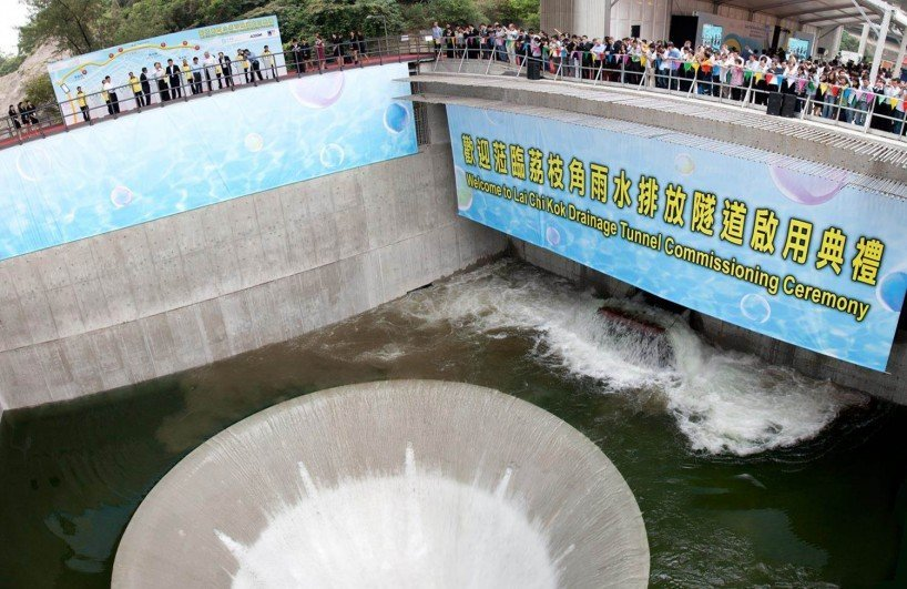 Lai Chi Kok Drainage Tunnel