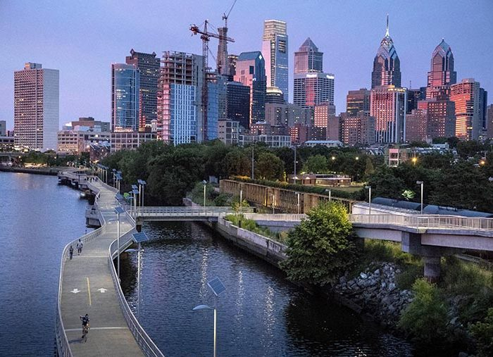 Boardwalk lights up Philadelphia
