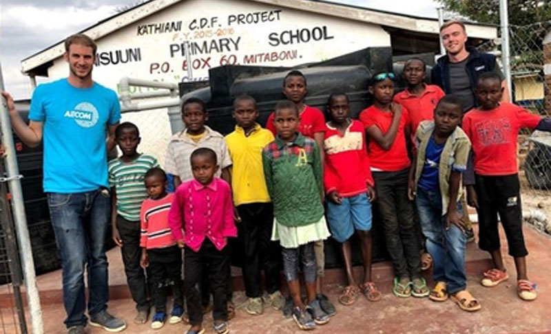 Salvador Bentolila Kenya school AECOM blueprint