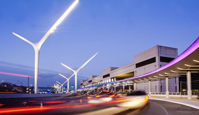 LAX Enhancements- Tom Bradley International Terminal Approach.tif