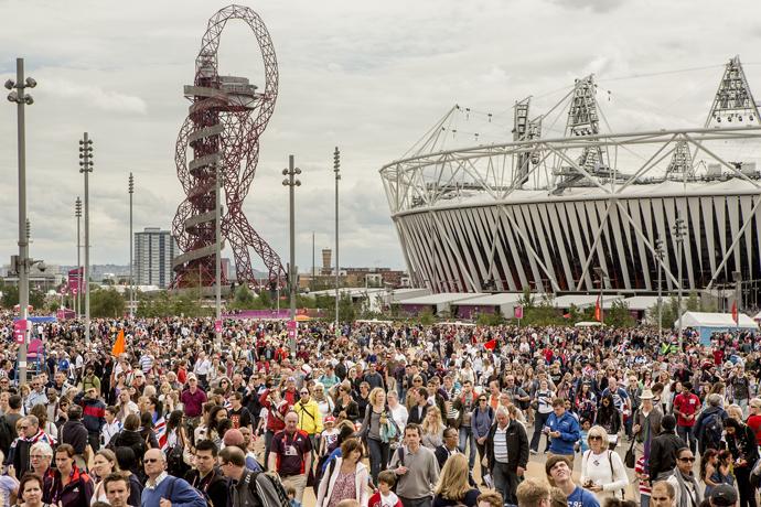 London Olympic Park 2012: Park photos
