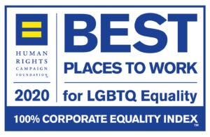 Best places to work for LGBTQ Equality 2020. Human Rights campaign Foundations