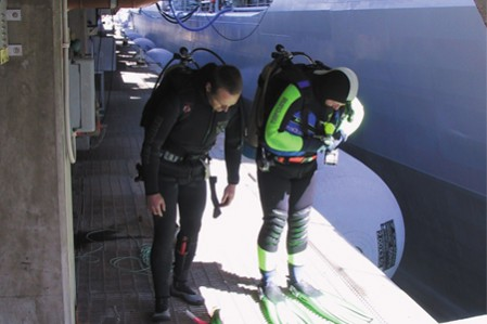 Department of Defence Biofouling Study