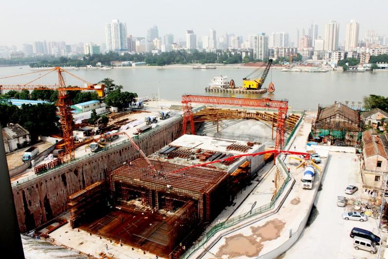 Guangzhou Zhoutouzui Immersed Tunnel