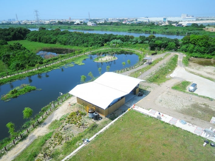 Yong Kang Sewage Treatment Plant Water Reclamation