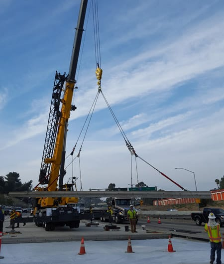 As part of Caltrans' initiative to provide long life pavement rehabilitation through the 710 Freeway corridor, AECOM (legacy Shimmick Construction), in a joint venture, is replacing over 34 lane miles of existing pavement with new pavement.