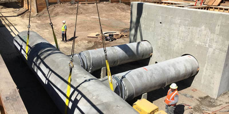 AECOM (legacy Shimmick Construction) performed work for the Grandsen Pump Station in Moorpark, Calif.
