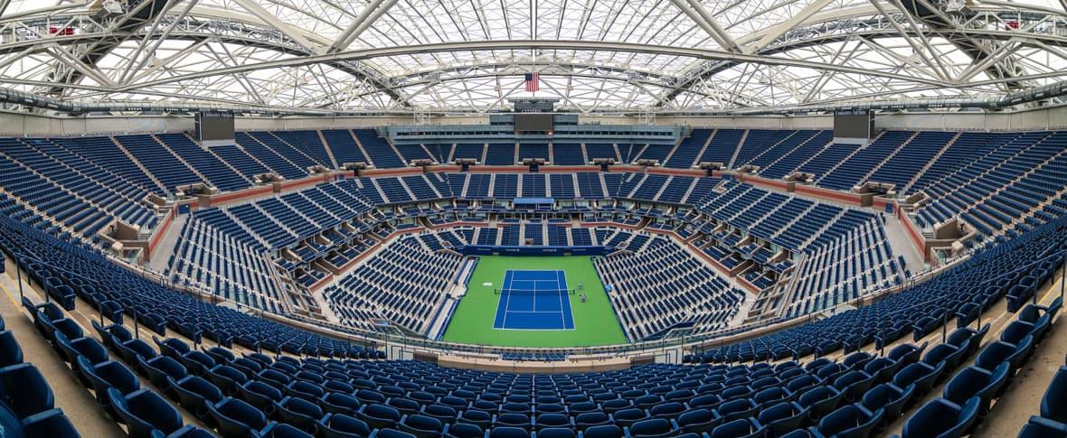 USTA Billie Jean King Stadium retractable roof