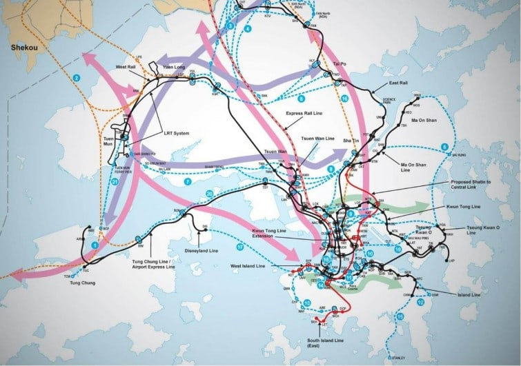 Hong Kong Second Railway Development Study