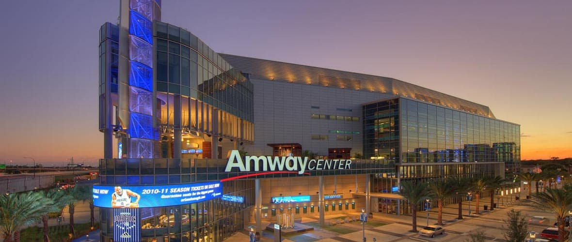 Amway Center in downtown Orlando, Florida