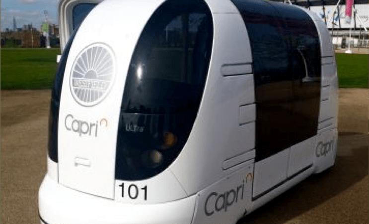 Connected and Autonomous POD on-Road Implementation (CAPRI)