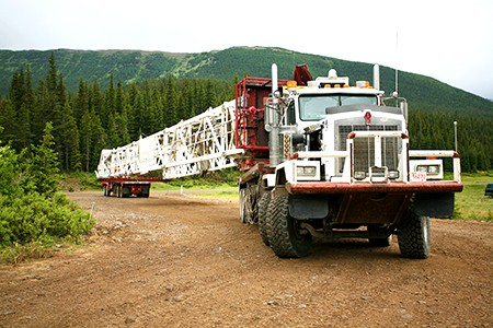 BHP Billiton Drill Rig Relocations