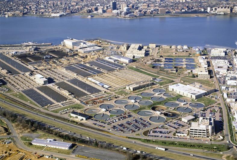 Blue Plains Wastewater Treatment Plant