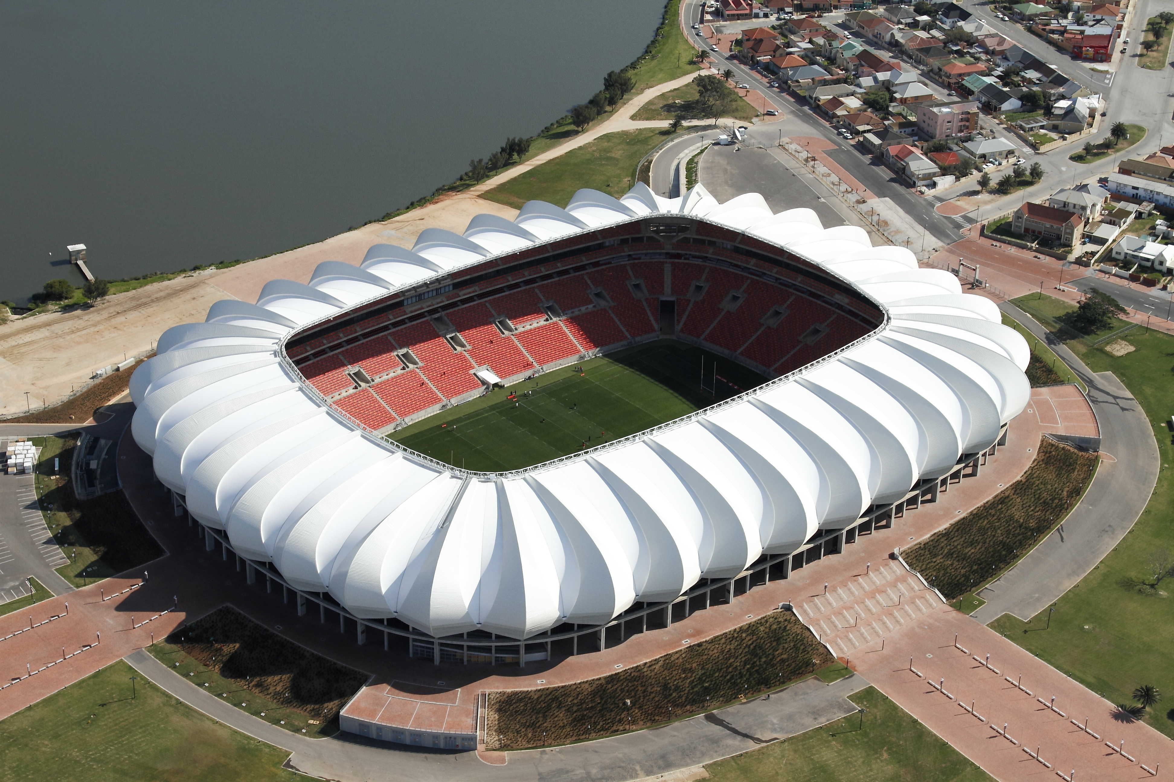 Nelson Mandela Bay Stadium The stadium is sometimes incorrectly called the 'nelson mandela stadium' in the media. nelson mandela bay stadium