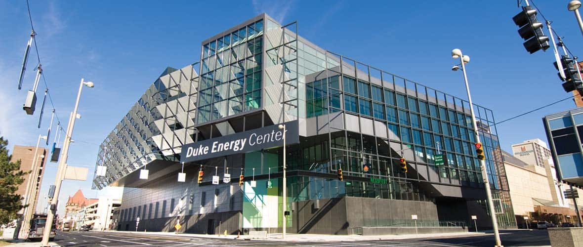 Duke Energy Center in downtown Cincinnati