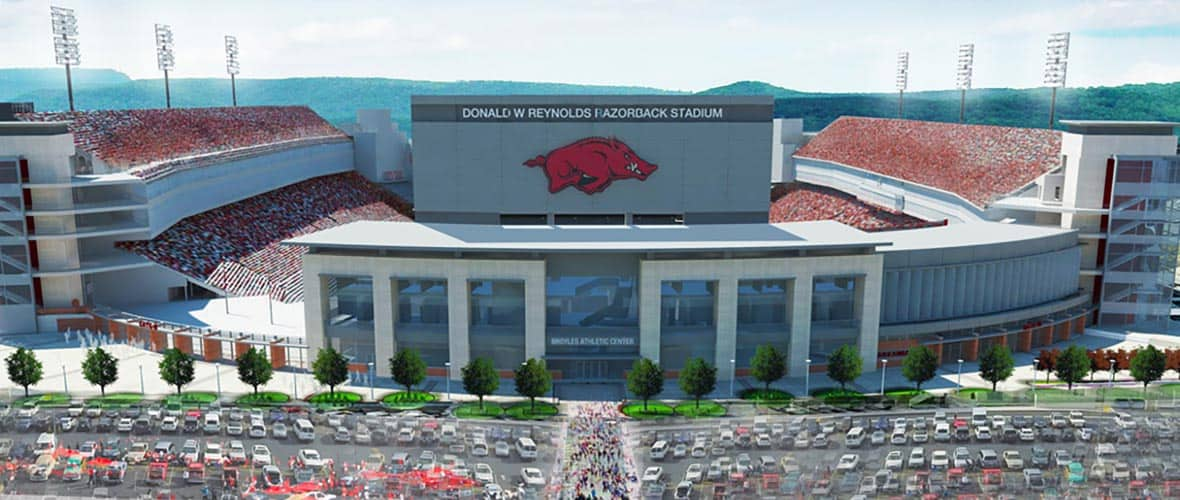University of Arkansas Donald W. Reynolds Razorback Stadium Addition and Renovation