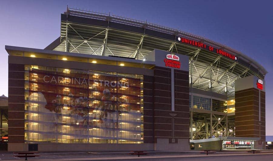 University of Louisville Papa John's Cardinal Stadium Expansion