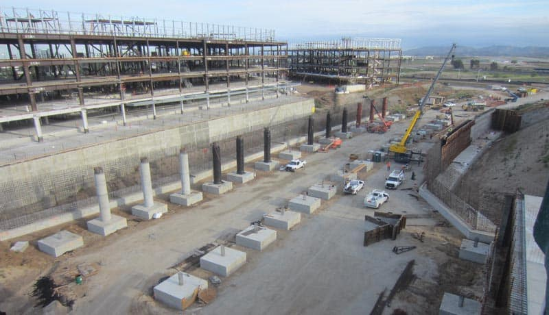 The OCPC Campus Bridges project was undertaken to connect both sides of the new OCPC office campus across the future Marine Way. AECOM (legacy Shimmick Construction) performed the design-build project.