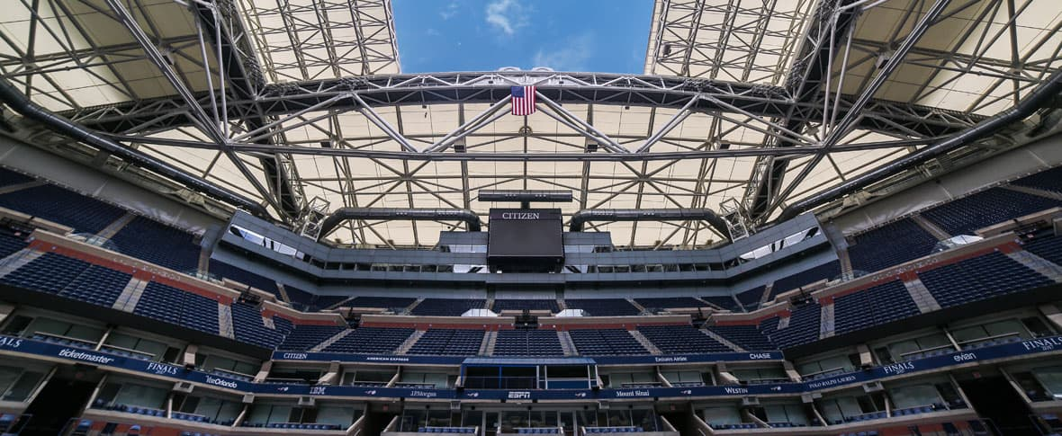 USTA Arthur Ashe Stadium Retractable Roof